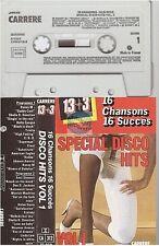 VARIOUS cassette K7 tape 13+3 special disco hits vol 1 sheila boney m ... 73.010