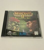 Warcraft 2 II Beyond the Dark Portal Expansion Set Blizzard PC Manual COMPLETE