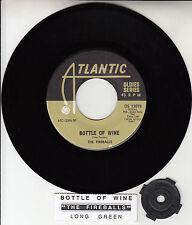 "THE FIREBALLS  Bottle Of Wine 7"" 45 rpm vinyl record NEW + juke box title strip"
