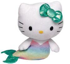 Peluche Hello Kitty Sirena - Original de la Marca Ty Sanrio Juguete Niños Kity