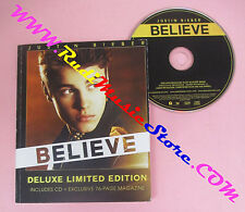 BOOK LIBRO + CD JUSTIN BIEBER Believe deluxe limited edition 2012 no cd lp dvd
