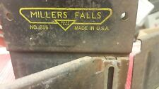Vintage Miller's Falls #816 Mitre Box / Rare Saw Tool / Saw Not Included