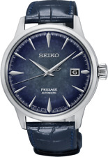 Seiko Watch SRPC01J Limited Edition Presage Platinum Automatic 5 ATM RRP $675