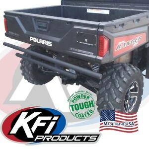 KFI Double Tube Rear Bumper Black Polaris Ranger Full Size See Fitment 101835