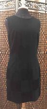 Vintage Laundry Shelli Segal Dress Womens Size 8 Sleeveless Little Black Sheath