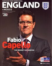 ENGLAND v Mexico (Friendly @ Wembley) 2010