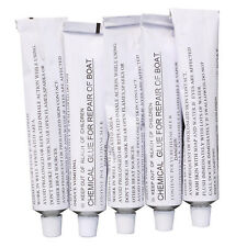 5 X 30G TUBES OF INFLATABLE BOAT REPAIR PVC GLUE Halkey-Roberts