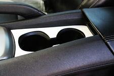2010-2014 Chevrolet Camaro Billet Cup Holder Bezel White