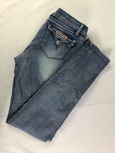 Hudson Jeans Size Girls 16 Stretch Medium Wash Blue Skinny Mid Rise