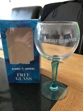 Bombay Sapphire Gin Balloon Glass - Brand New in its Box
