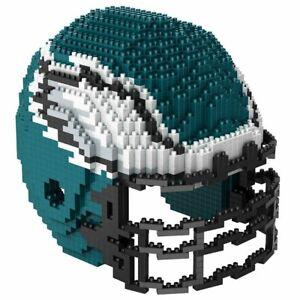 FOCO BRXLZ NFL Philadelphia Eagles Football Helmet 3-D Construction Toy