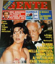 GENTE=1995/3=CAROLINE DE MONACO=LAGERBACH=CALDONAZZO=RUPAUL=NAOMI CAMPBELL=