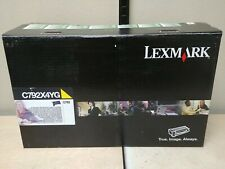 Genuine Lexmark Extra High Yield R P C792X4YG Toner Cartridge Yellow C792 New