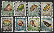 TOGO 1964/65 TIMBRES-TAXE SERIE COQUILLAGES   YT 62/69