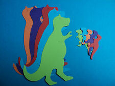 T Rex die cut shapes Dinosaur