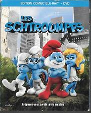 COMBO BLU RAY + DVD--LES SCHTROUMPFS--RAJA GOSNELL