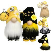 Bumble Bee Gnomes Doll  Plush Decorations Bee Elfs Room Decor