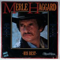 Merle Haggard - His Best (1985) [SEALED] Vinyl LP • Greatest Hits of
