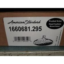 "AMERICAN STANDARD 1660681.295 6-3/4"" MODERN RAIN SHOWERHEAD-BRUSHED NICKEL"