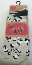 Cotton Blend Multi-Coloured Socks for Women