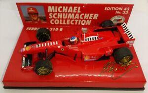 F1 1/43 FERRARI F310B SCHUMACHER 1997 MINICHAMPS MSC #33
