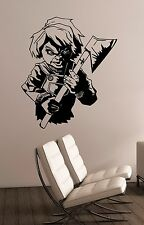 Chucky Child's Play Wall Decal Vinyl Sticker Movie Art Bedroom Horror Decor ckp1