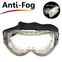 Safeyear Safety Goggles Glasses Anti Fog UV Scratch Resistant Eye Protection Z87