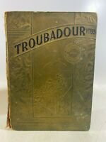 1934 Hendrix College Yearbook Conway Arkansas The Troubadour Vintage Book