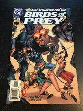 Birds Of Prey#22 Incredible Condition 9.0(2000) Deathstroke App!!