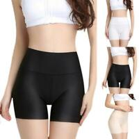 Women Short Pants Safety Elastic Anti Chafing High Waist Underwear Shorts M Top