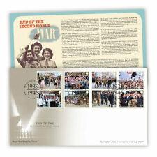 More details for end of second world war royal mail® stamp souvenir set