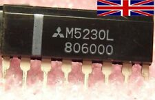 M5230L ZIP-8 Integrated Circuit from Mitsubishi