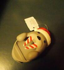 Bath & Body Works Pocketbac Holder Walrus Christmas Candy Cane Winter Holder NEW