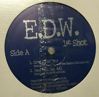 "E.D.W. - 1st Shoot 12"" EP 2002 Sealed NEW Random Rap Hip Hop Private Chicago"