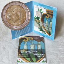 2 Euro Pièce de Monnaie Commémorative San Marino Créativité U.Innovation 2009 Bu
