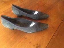 Paire De Chaussures En Daim La Scarpa T.41/ Size 7.5 Suede Shoes