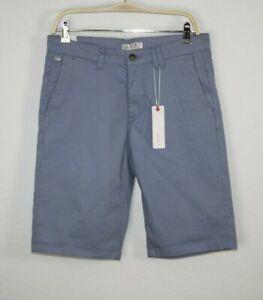 ESPRIT Herren Basic Chino Shorts jeansblau NEU