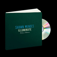 Shawn Mendes Illuminate MEGA RARE Hardback Book With Deluxe CD. New / Sealed