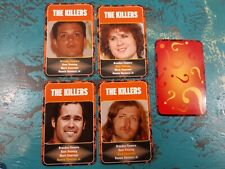 The Killers Happy Families Cards Trading Card Game Brandon Flowers Dave Keuning
