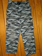 Gymboree Boys Blue Camo Gymster Pants size 6 Lined