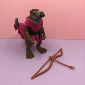 Vintage Teenage Mutant Ninja Turtles Master Splinter Rat Toy Action Figure 1980s