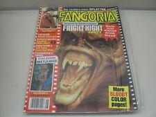 AUGUST 1988 FANGORIA HORROR MAGAZINE #76 FRIGHT NIGHT PART 2 NIGHTMARE ELM ST 4