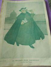 Le secon père Duchesne ou petit St Thomas dessin A Barrère Print Art déco