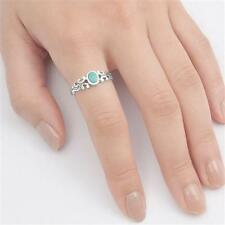 USA Seller Turquoise Ring Sterling Silver 925 Best Price Jewelry Selectable Gift