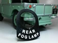 Toggle Switch Tab Badge Rear Fog Lamp Austin Healey Frogeye Bugeye Sprite