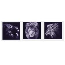 1 Panel Lion Abstract Art Painting Oil Print Painting on Canvas Poster
