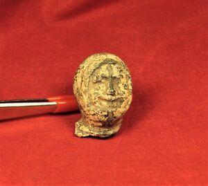 Medieval Knight's Sculpture Head - 13. Century
