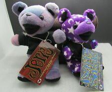Grateful Dead Liquid Blue Beanie Bears bear JERRY & DARK STAR 1998 NWT