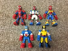 Marvel Super Hero Figures Toy Biz WW Lot of 5 - FREE SHIPPING !!