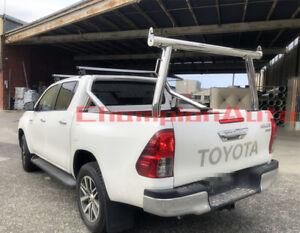 Silver Aluminium Ladder Rack fit Toyota Hilux SR5 2000-2014 TUB